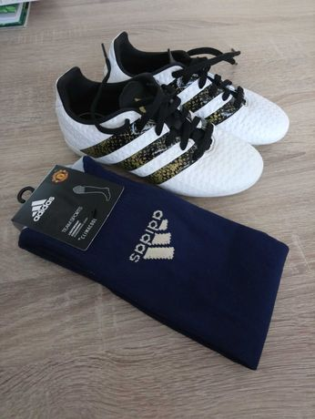 Buty piłkarskie turfy Adidas rozm.31 + getry gratis