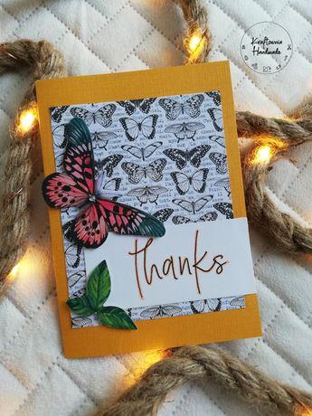 """Kartka okolicznościowa """"Thanks"""""""