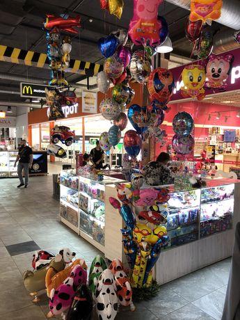 Шарики , игрушки продам магазин островок в ТРЦ Фабрика