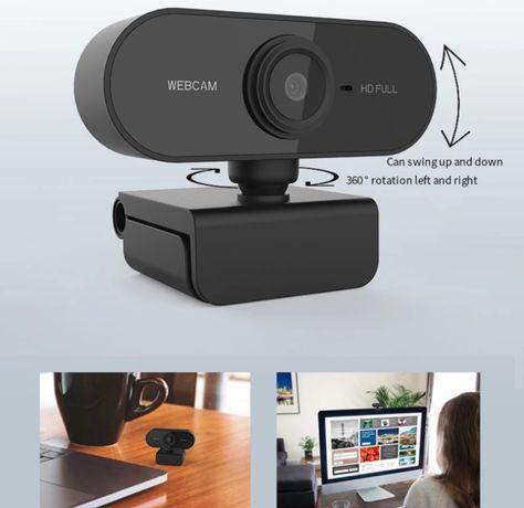 WebCam HD com microfone embutido (Adequado para transmissões ao vivo)
