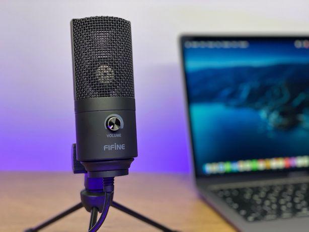 Студийный конденсаторный микрофон Fifine K669 Black
