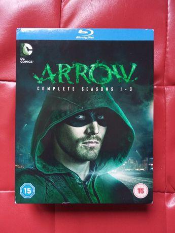 Arrow - serial na Blu-ray sezony 1-3