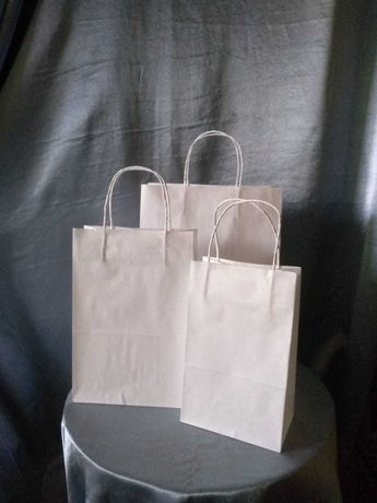 Эко пакеты бумажные крафт