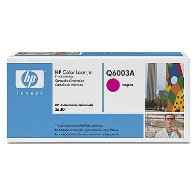 Toner HP Color Laserjet 124A Q6003A Magenta (Original Novo)