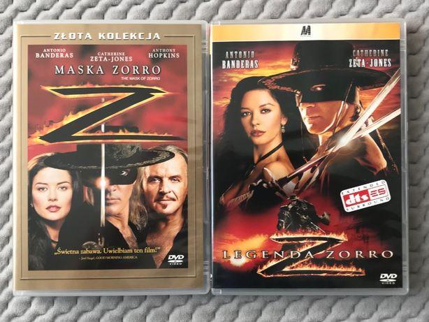 """""""Maska Zorro"""" + """"Legenda Zorro"""" - 2 DVD (PL)"""