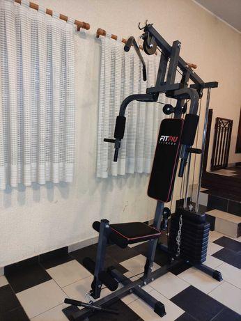 Máquina Multifunções para Musculação em casa