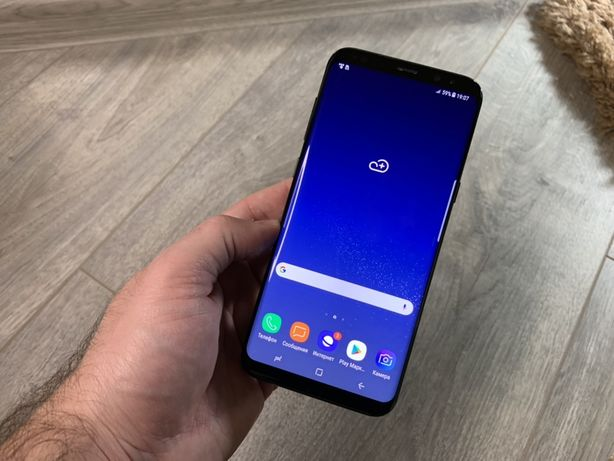 Samsung Galaxy S8 Plus 64gb G955 Black #838