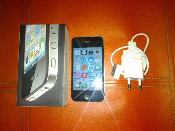 Apple Iphone 4 A1332 MC603DN/A 16gb,czarny,stan idealny pudełko+ładow!