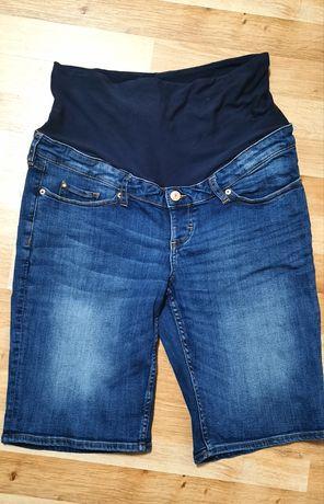 Krótkie spodenki ciążowe H&M Mama roz. 42 XL jeansowe