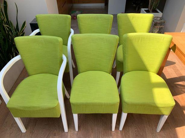 krzesła FAMEG komplet 6 szt. - stan idealny