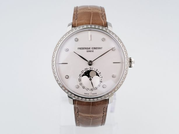 Женские новые часы Frederique Constant Manufacture Moonphase 39 мм