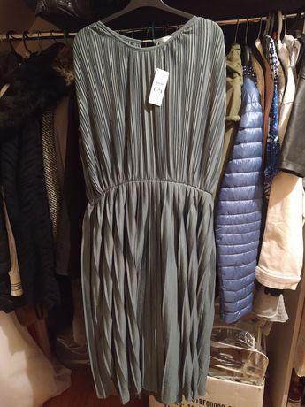 Sukienka plisowana xxl