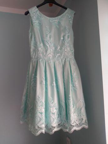 Sukienka miętową
