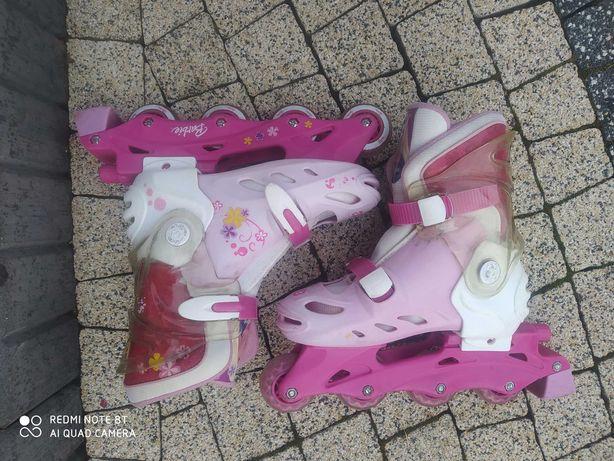 Rolki Barbie rozmiar 34-37