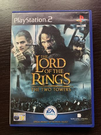 The Lird of the Rings: The Two Towers PS2
