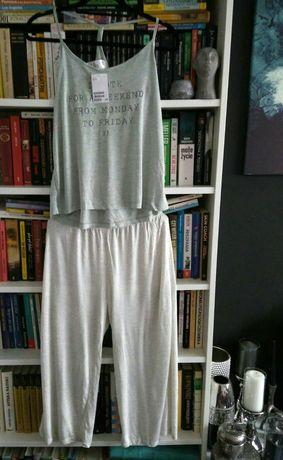 H&M komplet piżama, z metką