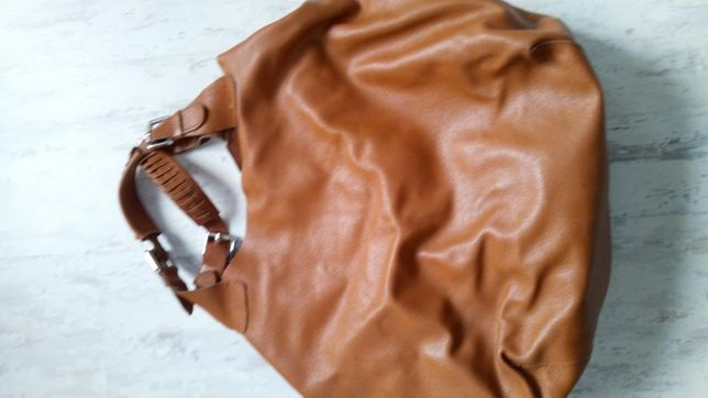 Skórzana torba carmel