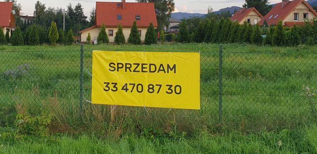 Działka budowlana Buczkowice koło Szczyrku, województwo śląskie