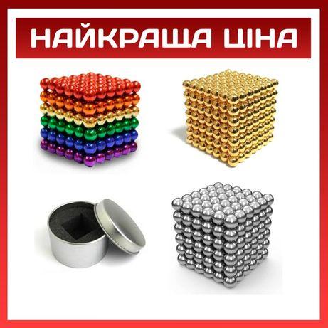 НеоКуб головоломка NeoCube магнитные Шарики-конструктор 216 любой цвет