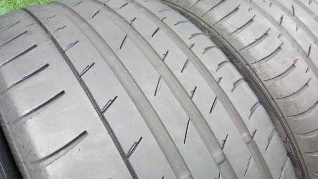 245/45R18 Continental Opony letnie używane 4 szt RUN FLAT