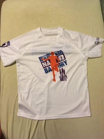 Koszulka techniczna z biegu Biegiem na Bagry M - ka