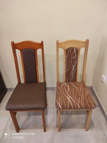 Krzesło drewniane tapicerowane K-7