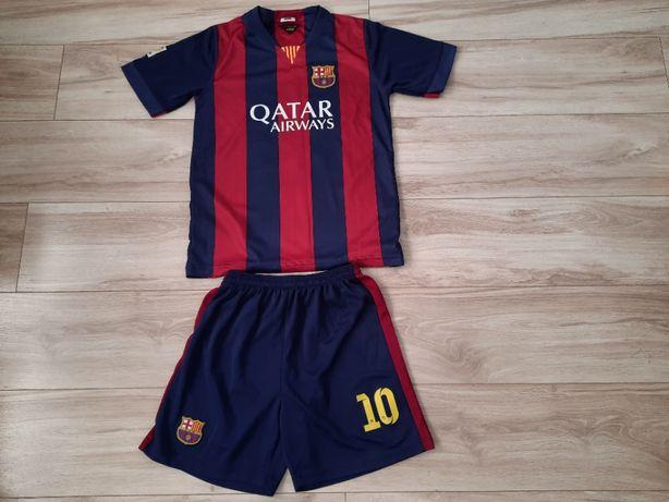 Koszulka spodenki Messi Barcelona, ok. 150-160 cm, ok. 13-14 lat