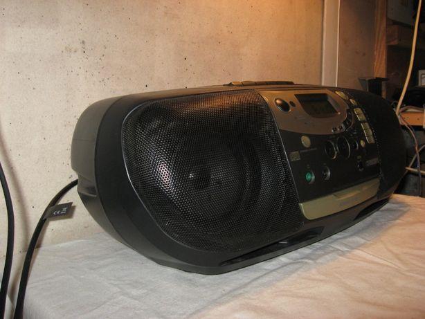 Radiomagnetofon Philips AZ1508/14 po wymianie pasków