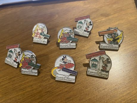 pins do Euro Disney
