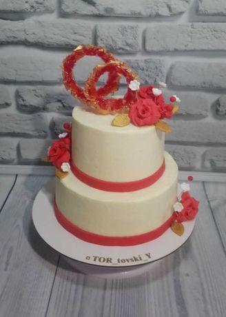 Свадебный торт. Торт на заказ. Кенди бар.