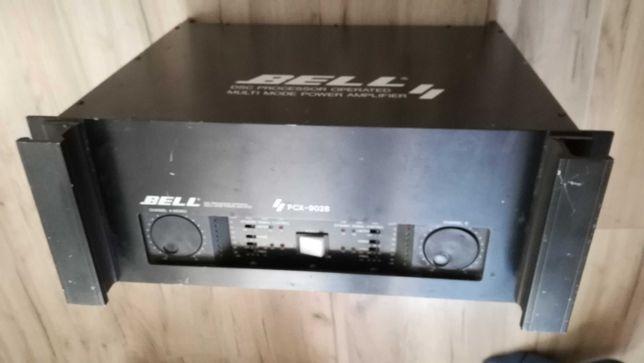 Końcówka mocy wzmacniacz Bell PCX 9028 procesor z crossover