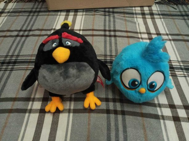 Angry birds игрушки мягкие оригинал