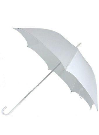 Biały parasol ślub wesele nowy