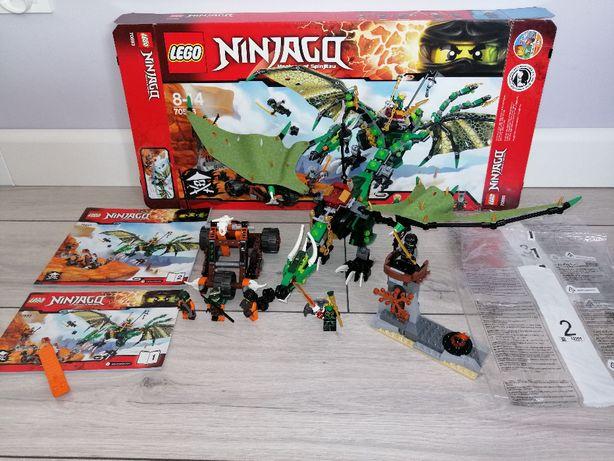 Lego Ninjago 70593 Zielony Smok NRG. OPIS.