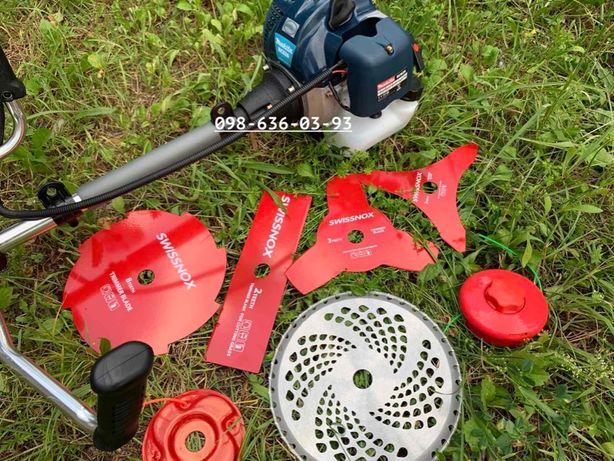 Бензокоса Makita BC626 мотокоса кущоріз тример бензокосилка 6 ножів