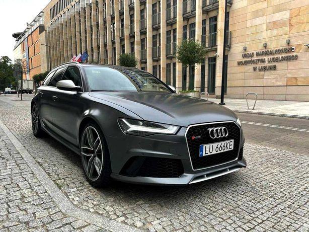Auto do ślubu Audi RS6