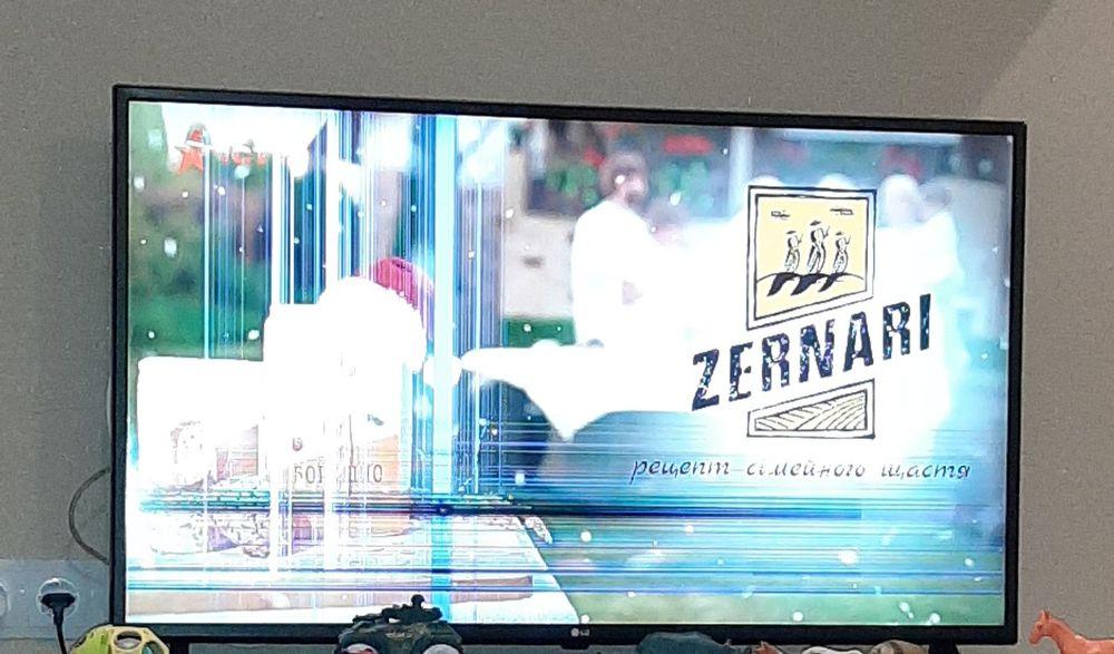 Продам телевизор LG 43UK6200PLA на запчасти! Повреждена матрица!! Бровары - изображение 1