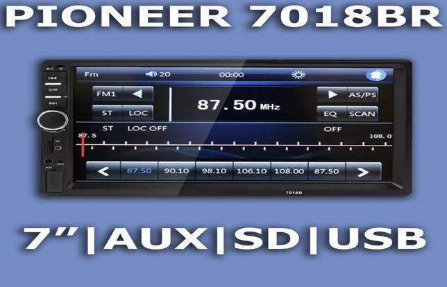 Мультимедиа PIONEER 7018 автомагнитола (2din, 7 д., USB, SD) Хит!