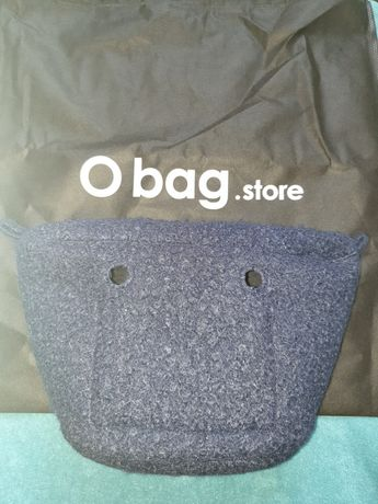 Organizer obag mini knit Blue navy