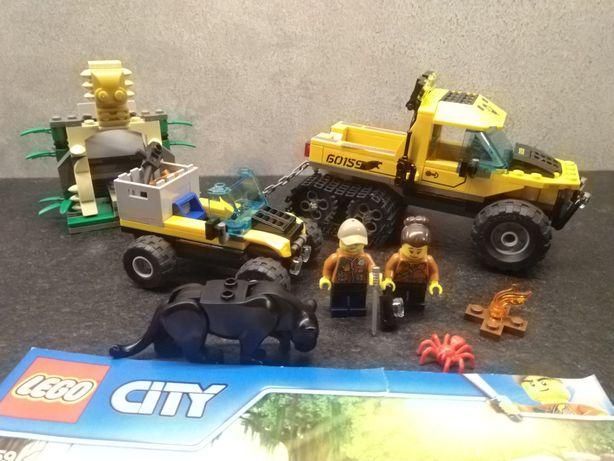Lego Jungle 60159 City Halftrack Mission Misja Terenowy samochód