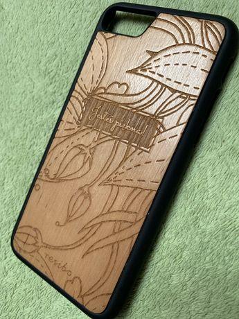 Etui drewniane iPhone 7/8