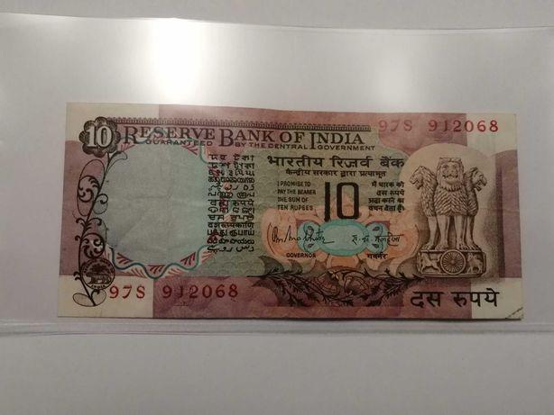 Индия 10 рупий 1970-1990