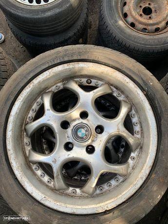 4 Jantes BMW R15 5x120 com pneus 235/45R17