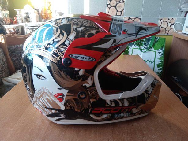 kask motocyklowy SCOTT rozm MD 57-58