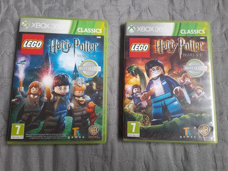 Harry Potter years 1-4 oraz 5-7 XBOX 360