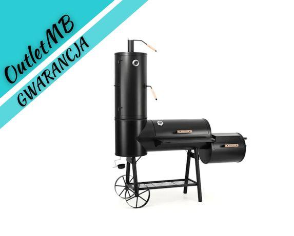 Wędzarnia ogrodowa stalowa gastronomiczna grill XXL 030808
