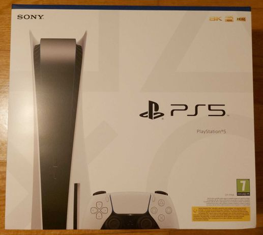 Consola PlayStation 5 BluRay NOVA, SELADA
