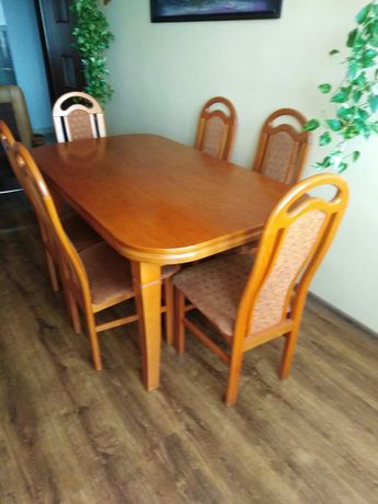 Stół + 8 krzeseł