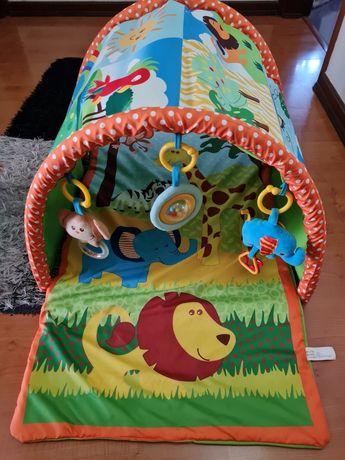 Ginásio de atividades para bebé Tunel Selva