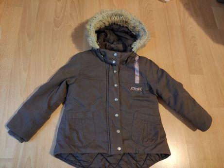 Kurtka zimowa płaszczyk zimowy dziecięcy płaszcz Reebok